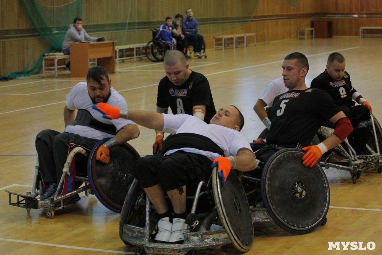 Сборная команда Москвы стала победительницей чемпионата России по регби на колясках в Алексине