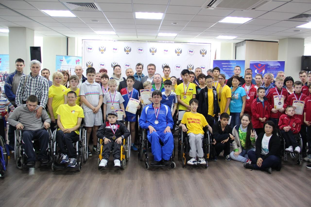 В спортивном зале Паралимпийского комитета России завершился VII Традиционный фестиваль паралимпийского спорта «Парафест»