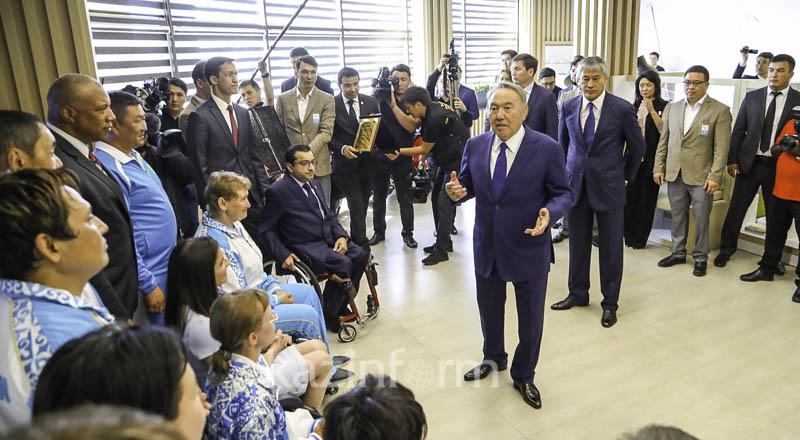 А.А. Строкин посетил с рабочим визитом г. Астана (Республика Казахстан), где принял участие в церемонии открытия Паралимпийского тренировочного центра