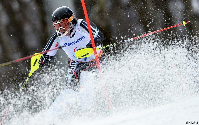 1 золотую, 3 серебряные и 1 бронзовую медали завоевали российские спортсмены в первый день международных соревнований по горнолыжному спорту среди лиц с ПОДА и нарушением зрения