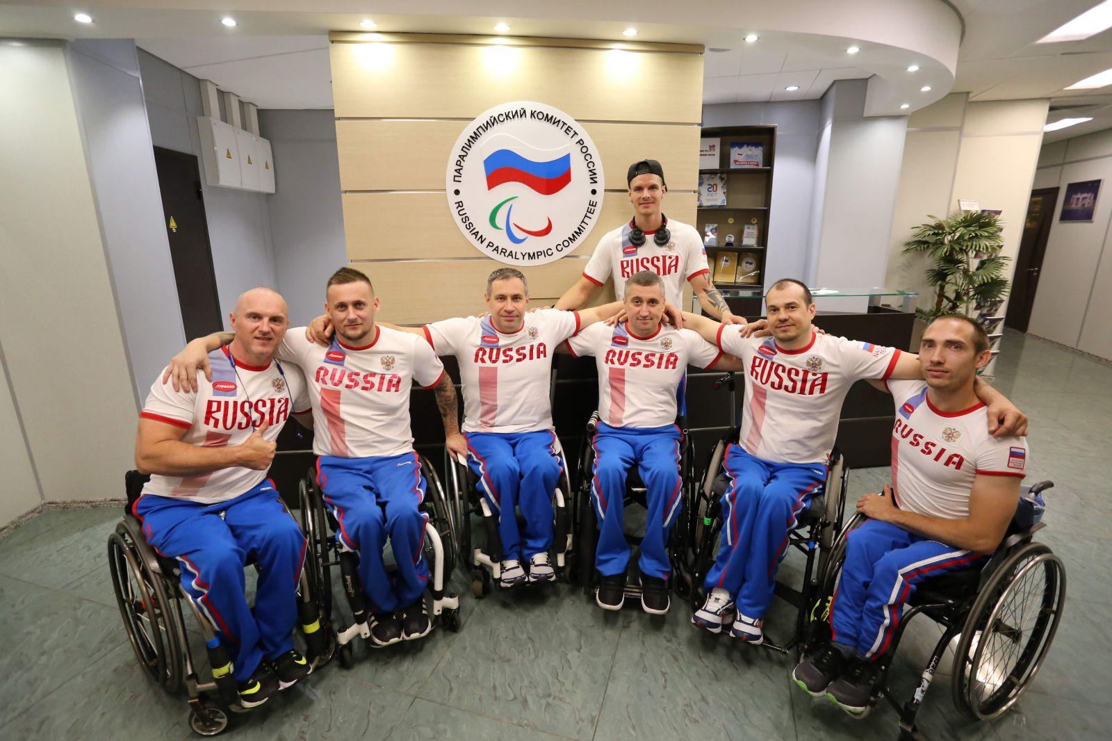 Российская сборная по баскетболу на колясках примет участие в товарищеском турнире в Германии