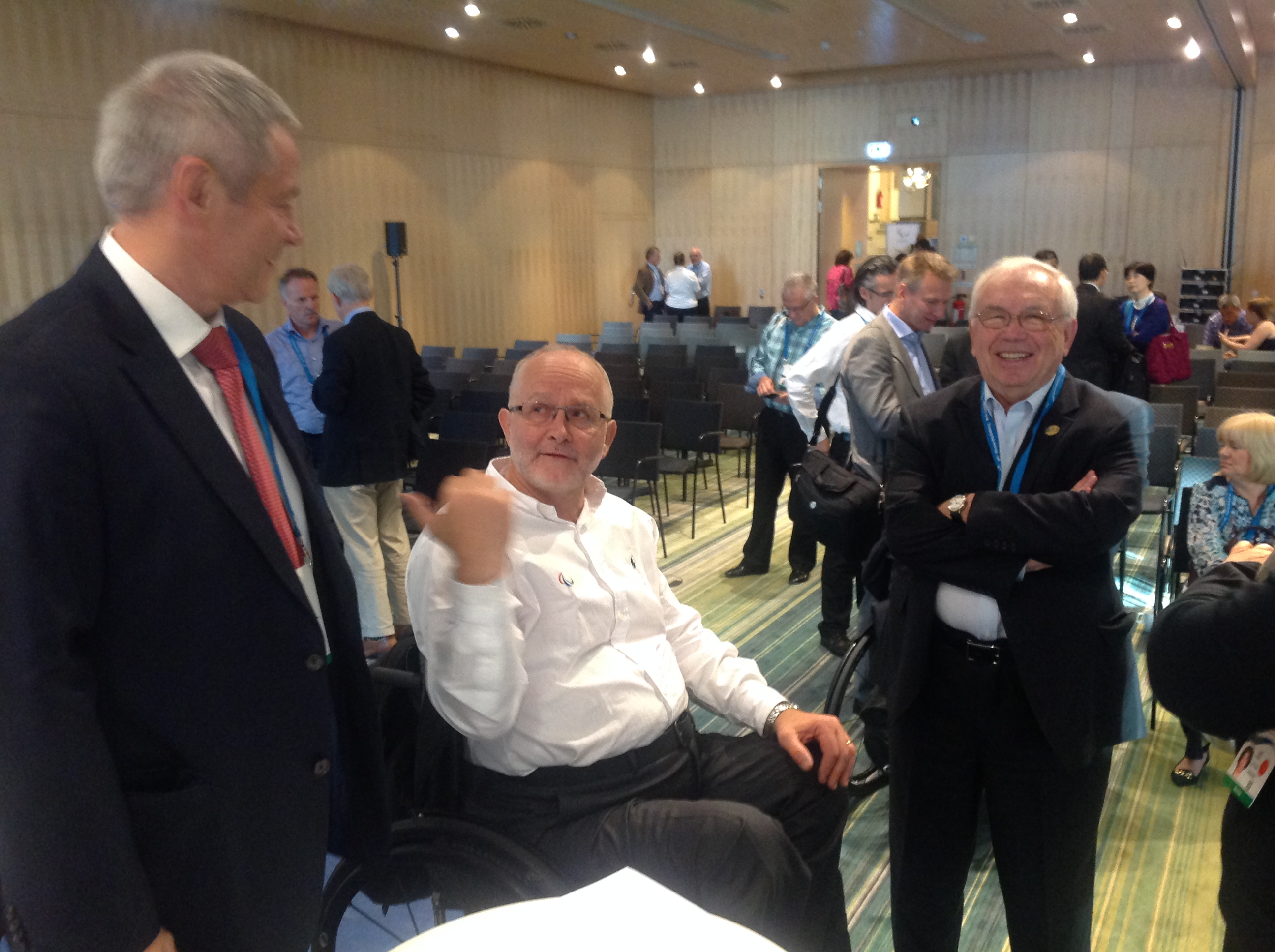 В. П.  Лукин, П. А.  Рожков, М. Б. Терентьев в г. Берлине приняли участие в Форуме членов Международного паралимпийского комитета