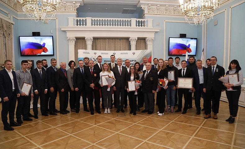 ПКР поздравляет Р.Р. Миннегулова и Е.Г. Героева с вручением Почетной грамоты Президента Российской Федерации