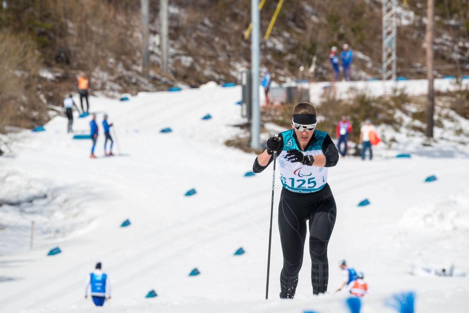 П.А. Рожков, И.А. Громова приняли участие в просмотре соревнований заключительного соревновательного дня Паралимпиады-2018
