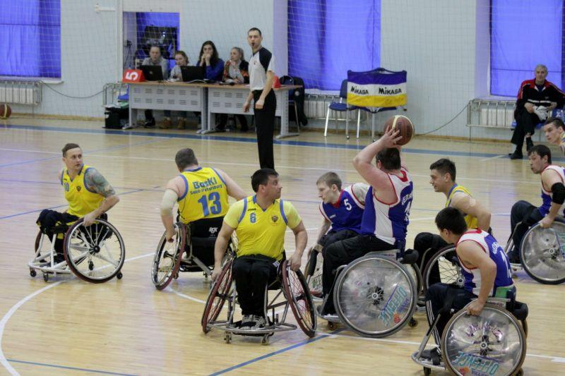 В г. Алексине на РУТБ «Ока» пройдет 2 круг чемпионат России по баскетболу на колясках
