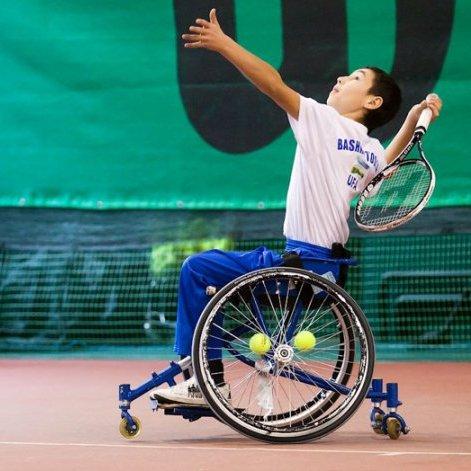 Первенство России по теннису на колясках стартовало в Московской области