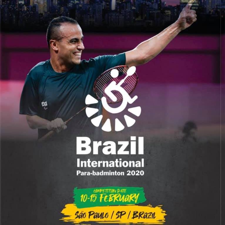 Сборная команда России по бадминтону спорта лиц с ПОДА примет участие в международных соревнованиях в Бразилии