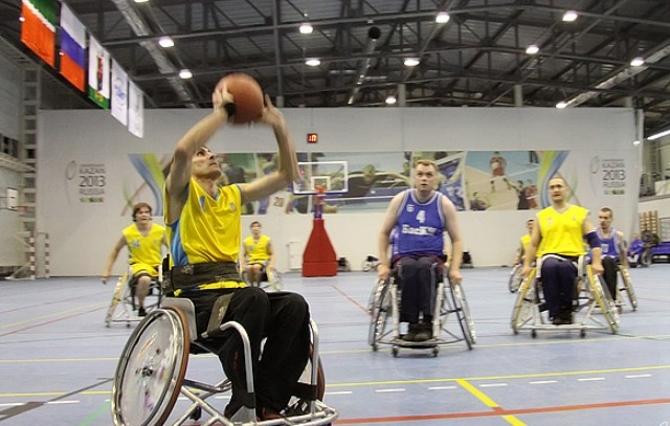 Сборная команда России по баскетболу на колясках завоевала 1 место на международном турнире в Словении