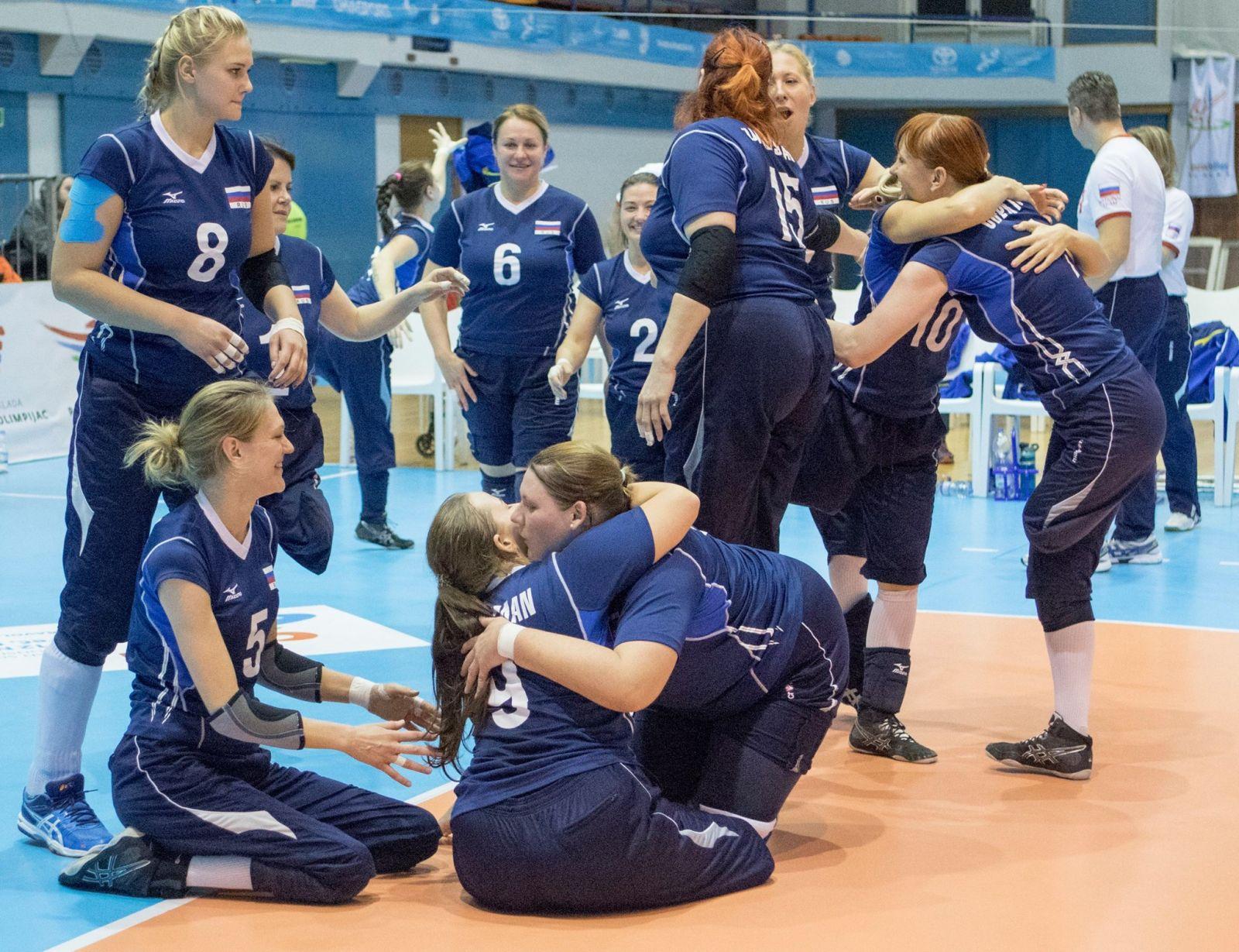 Мужская и женская сборные команды России стали победителями чемпионата Европы по волейболу сидя в Хорватии