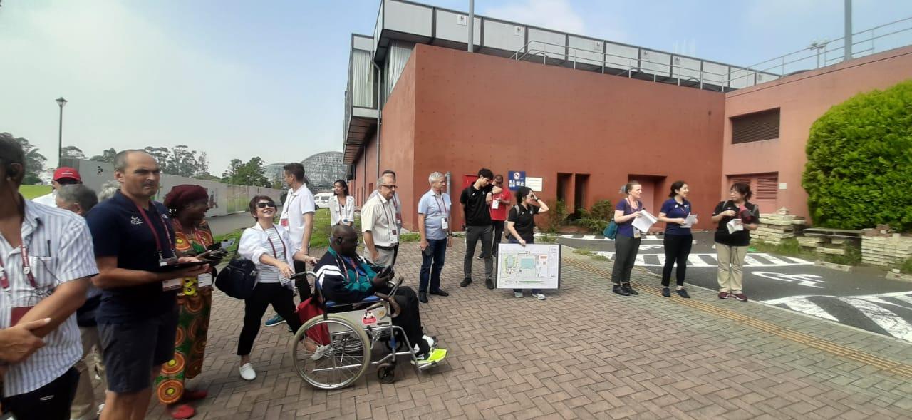 П.А. Рожков в г. Токио (Япония) принимает участие в семинаре Шефов миссии национальных сборных команд XVI Паралимпийских летних игр 2020 года в г. Токио (Япония)