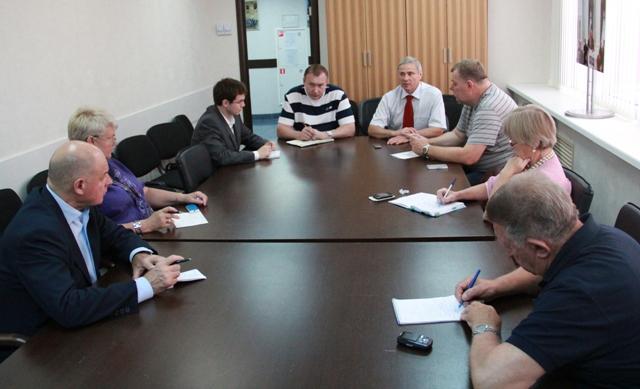 П. А. Рожков в офисе ПКР провел  рабочее совещание по организации проведения первого в истории отечественного спорта чемпионата России по регби на колясках