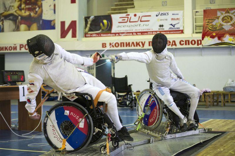 Спортсмены из Новосибирской области одержали наибольшее количество побед в первенстве России по фехтованию на колясках