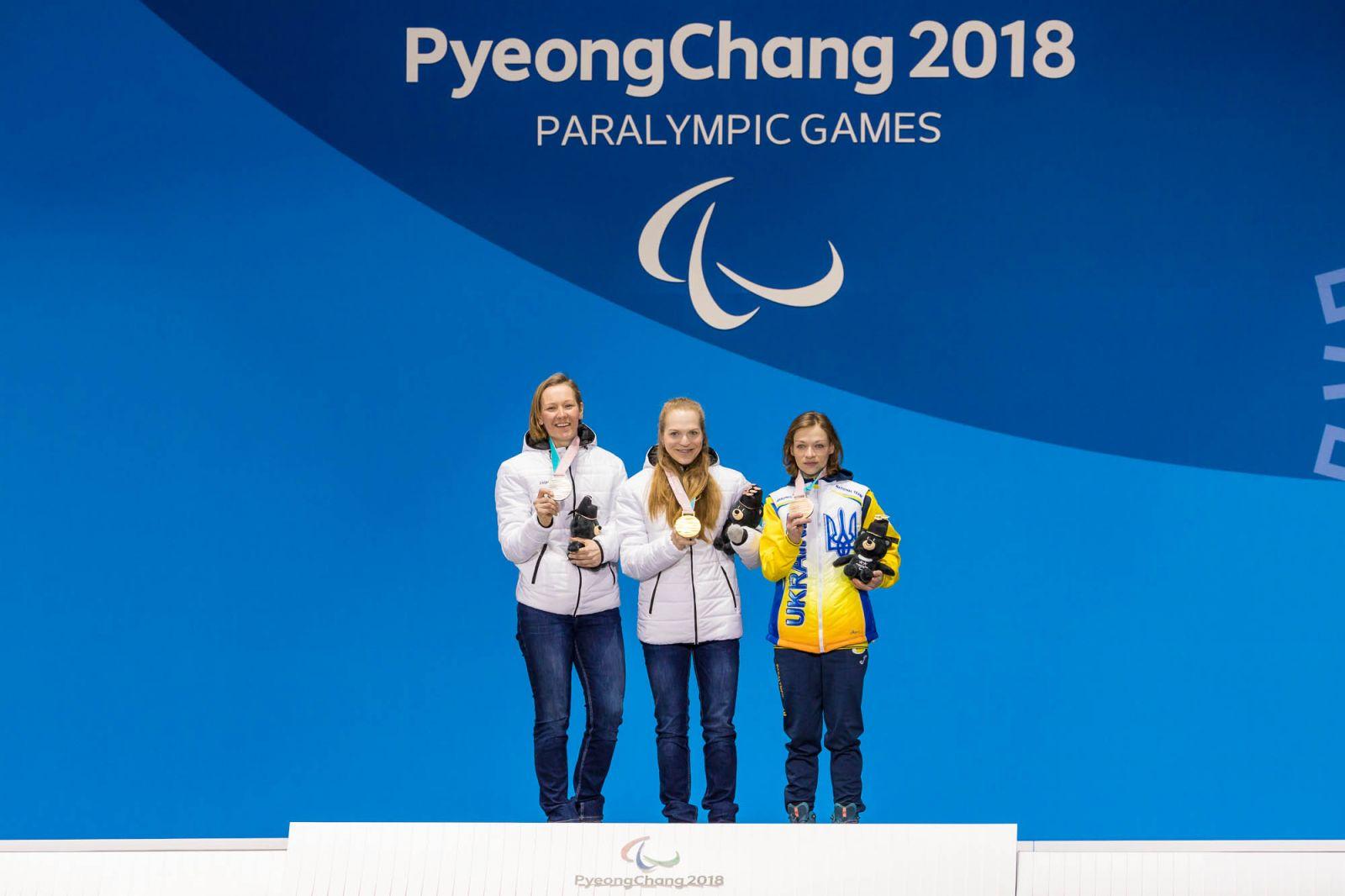 Паралимпиада-2018. Итоги 3 дня соревнований. Российские лыжницы завоевали золотую, серебряную и бронзовую медали