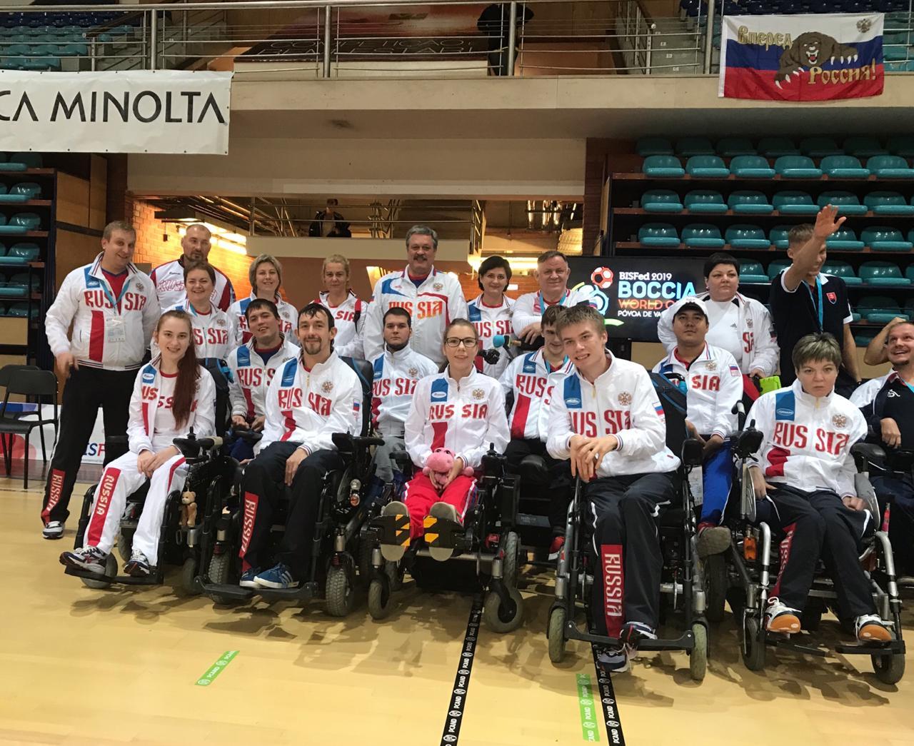 Михаил Гутник завоевал серебряную медаль на международном турнире по бочча «Povoa Boccia World Open»
