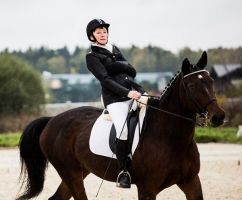Российские спортсмены на чемпионате Европы по конному спорту продолжили борьбу за квоты на Паралимпийские игры в Рио-де-Жанейро
