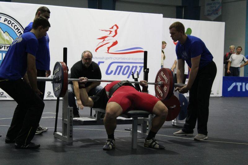 Сборные команды Тульской и Тамбовской областей стали победителями командного зачета Всероссийских соревнований по пауэрлифтингу спорта слепых