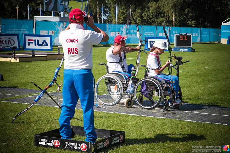 Российские лучники на чемпионате мира в Германии завоевали 7 медалей и 10 квот на участие в Паралимпийских играх 2016
