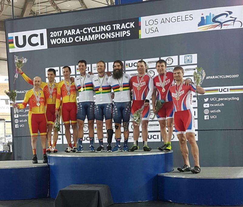 3 бронзовые награды завоевала сборная команда России на чемпионате мира по велоспорту на треке в США