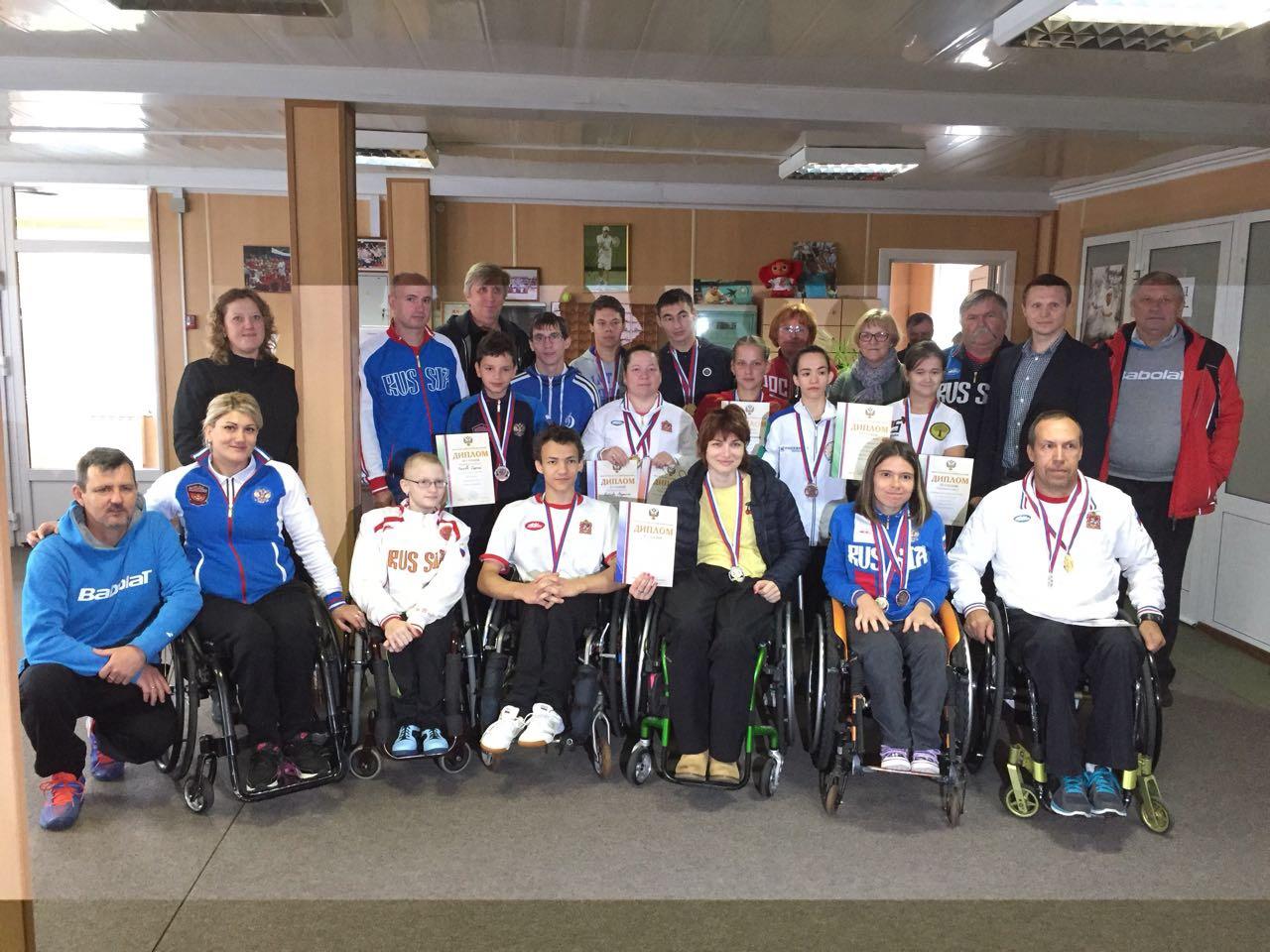 Ильдус Шайхисламов и Виктория Львова выиграли по две золотые медали на чемпионате России по теннису на колясках
