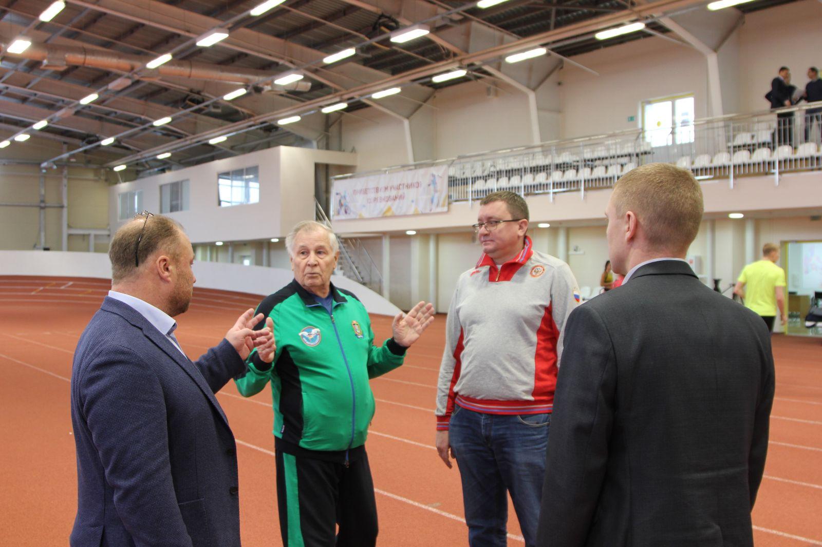 А.А. Строкин посетил Центр адаптивного спорта г. Сургута (ХМАО-Югра)