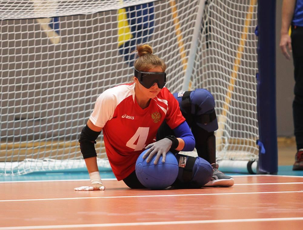 Женская сборная команда России со счетом 5-2 обыграла команду Германии и вышла в полуфинал чемпионата Европы по голболу спорту слепых в Финляндии