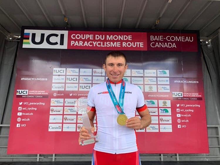 Пара-велогонщик Сергей Пудов – обладатель Кубка мира 2019 года