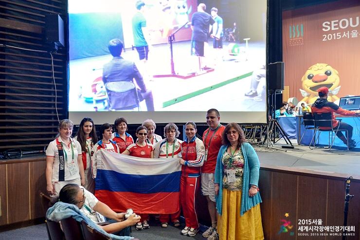 Российские паралимпийцы одержали уверенную победу на Всемирных играх спорта слепых (IBSA)