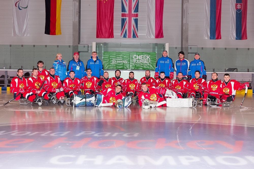Сборная команда России по следж-хоккею примет участие в международном турнире в Канаде