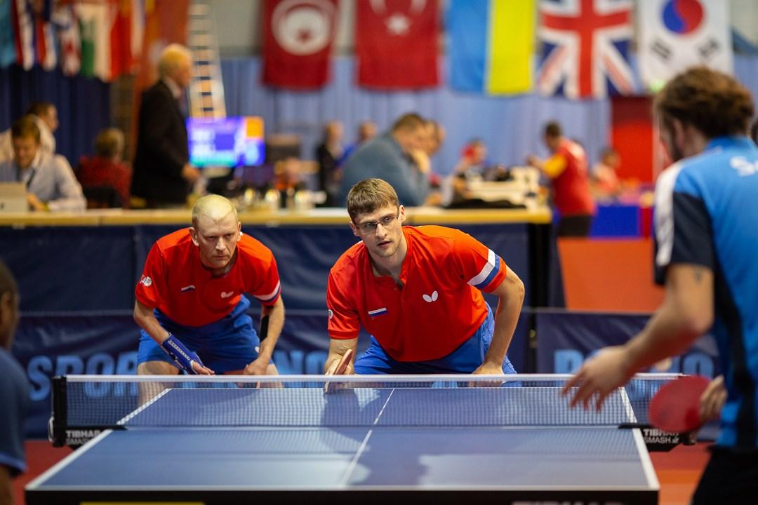 1 серебряную и 4 бронзовые медали завоевала сборная команда России по настольному теннису спорта лиц с ПОДА на международных соревнованиях в Нидерландах
