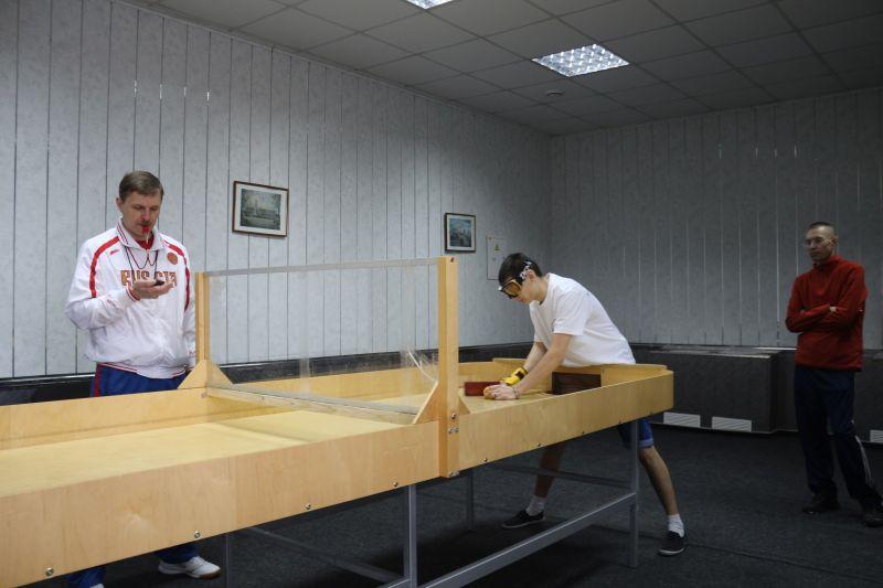 Сборная команда России по настольному теннису спорта слепых примет участие в международных соревнованиях в Литве