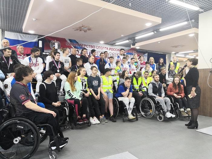В Московской области завершился чемпионат России по фехтованию на колясках