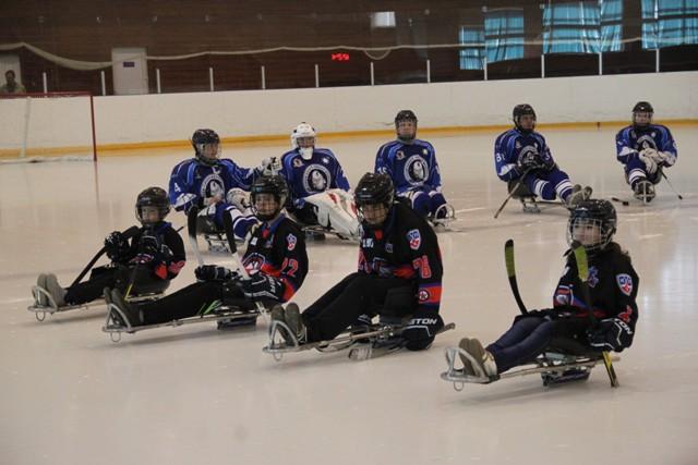 Детская следж-хоккейная команда «Ладога» (г. Алексин, Тульская область) принимает участие в Североамериканском турнире