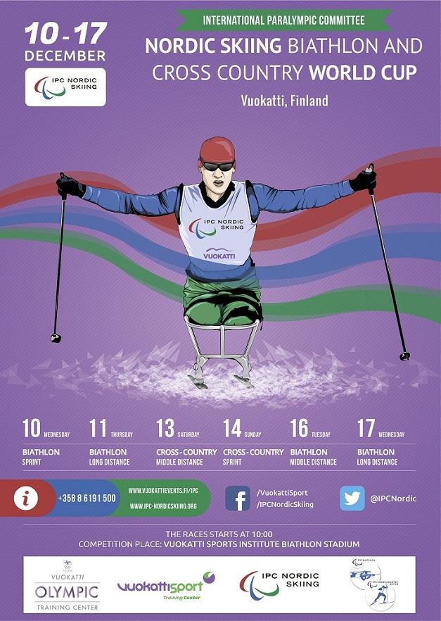 В Финляндии стартовал первый этап Кубка мира осенне-зимнего соревновательного сезона 2014-2015 г.г. по лыжным гонкам и биатлону спорта лиц с ПОДА и спорта слепых