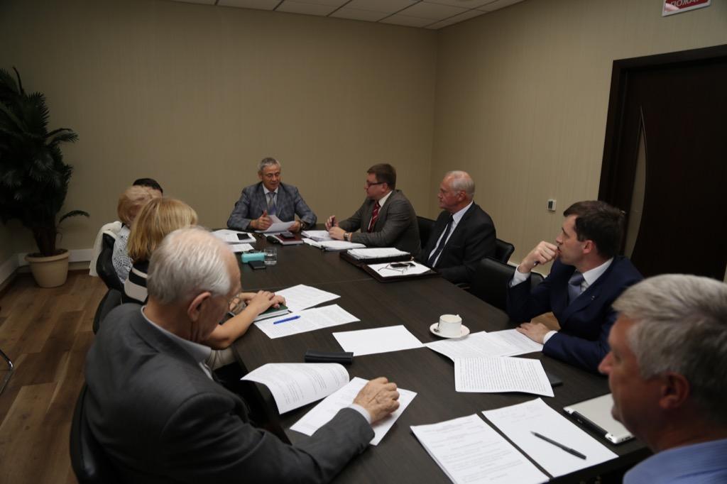 П.А. Рожков в офисе ПКР провел заседание Совета по координации программ, планов и мероприятий Паралимпийского комитета России