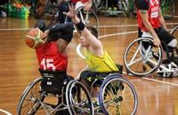 Сборная команда России по баскетболу на колясках завоевала первое место на международных соревнованиях в Словении.