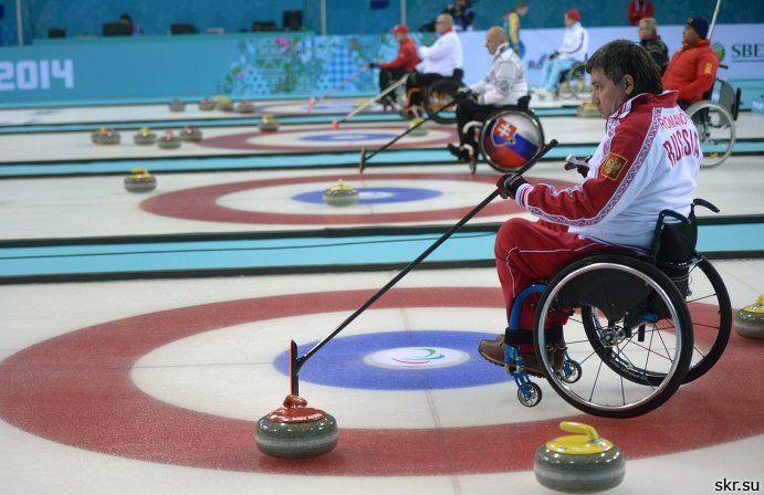Сборная команда России по керлингу на колясках выиграла матч 7 сессии паралимпийского турнира против сборной команы Швеции со счетом 7:4