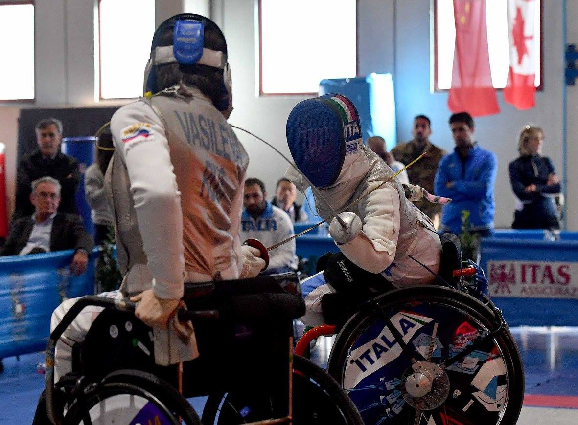 Омские фехтовальщики-паралимпийцы выиграли Кубок мира