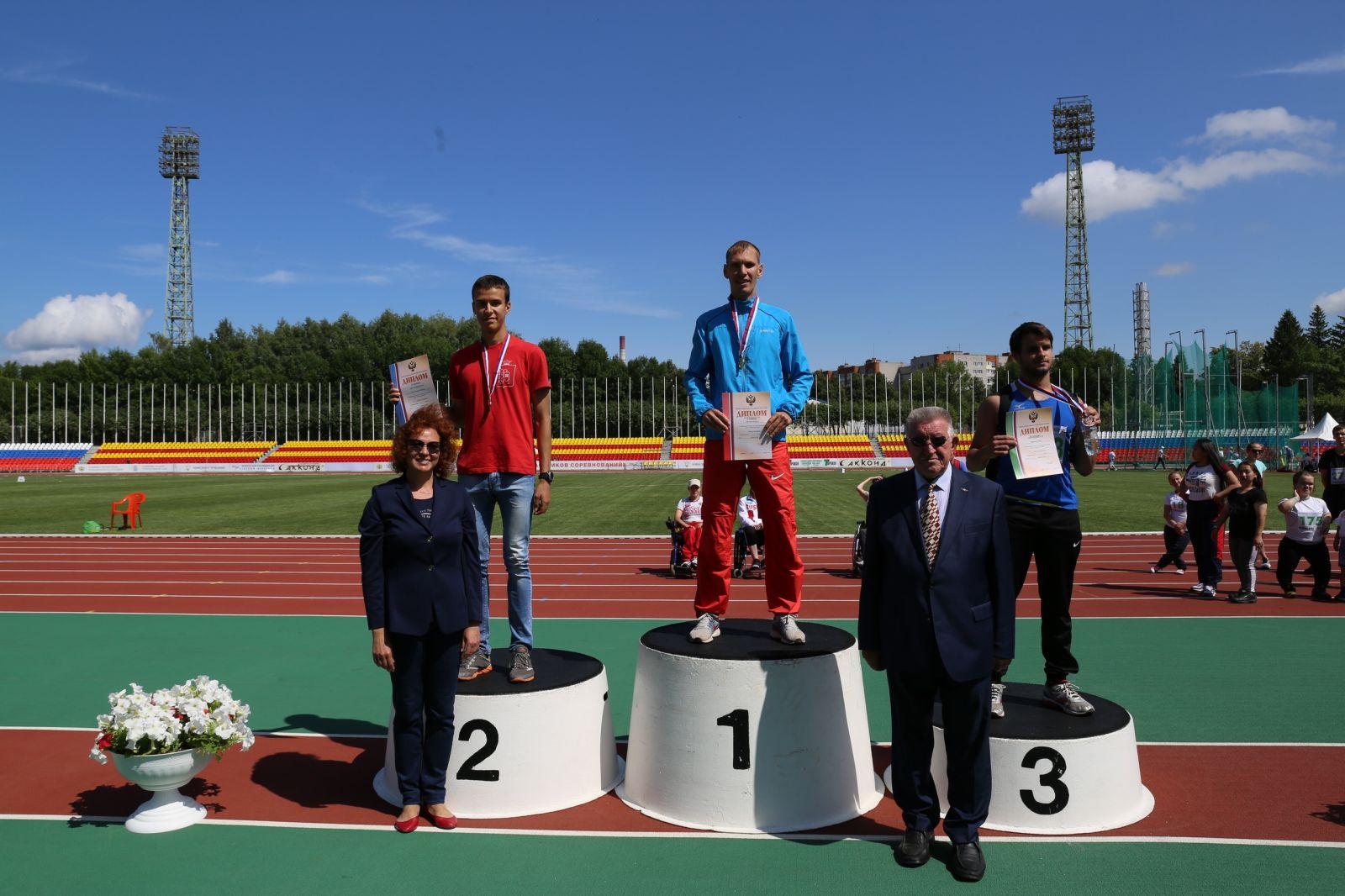 В Чебоксарах завершились совместные соревнования легкоатлетов с ПОДА, нарушением зрения и интеллектуальными нарушениями