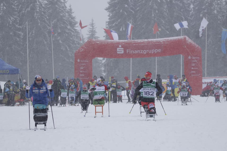 Российские спортсмены завоевали 7 золотых, 6 серебряных и 4 бронзовые медали по итогам двух дней 2 этапа Кубка мира по лыжным гонкам и биатлону спорта лиц с ПОДА и нарушением зрения в Германии