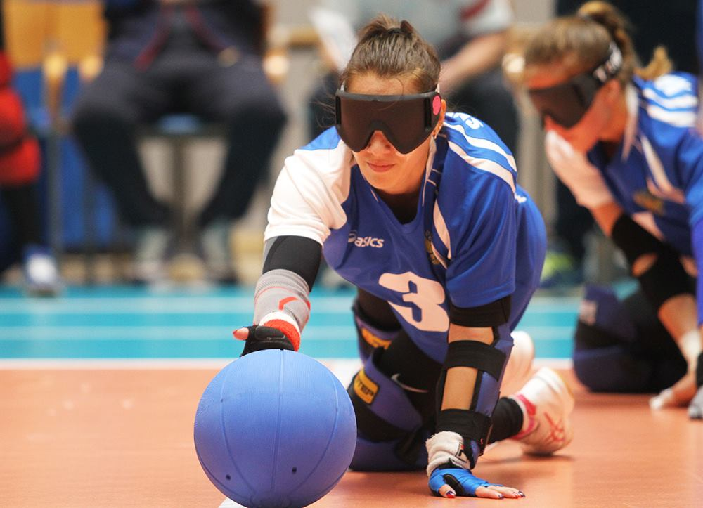Женская сборная команда России со счетом 9-3 нанесла поражение сборной Израиля в полуфинале чемпионата Европы по голболу в Финляндии