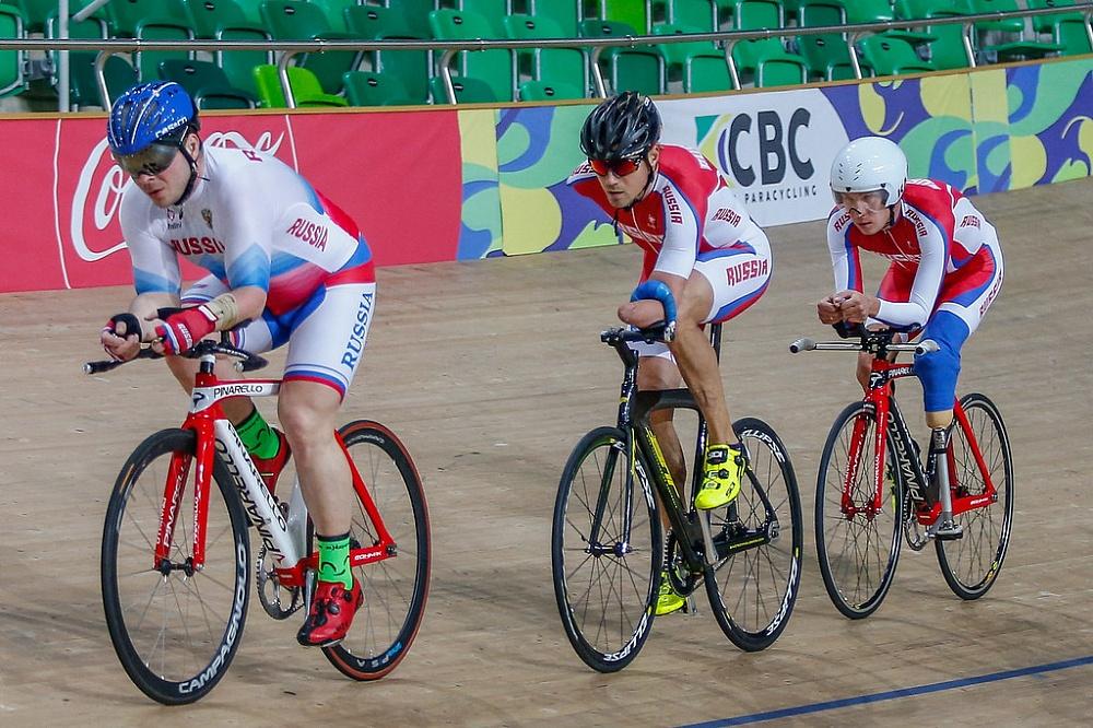 Российские спортсмены примут участие в чемпионате мира по велоспорту на треке среди спортсменов с ПОДА и нарушением зрения в Нидерландах