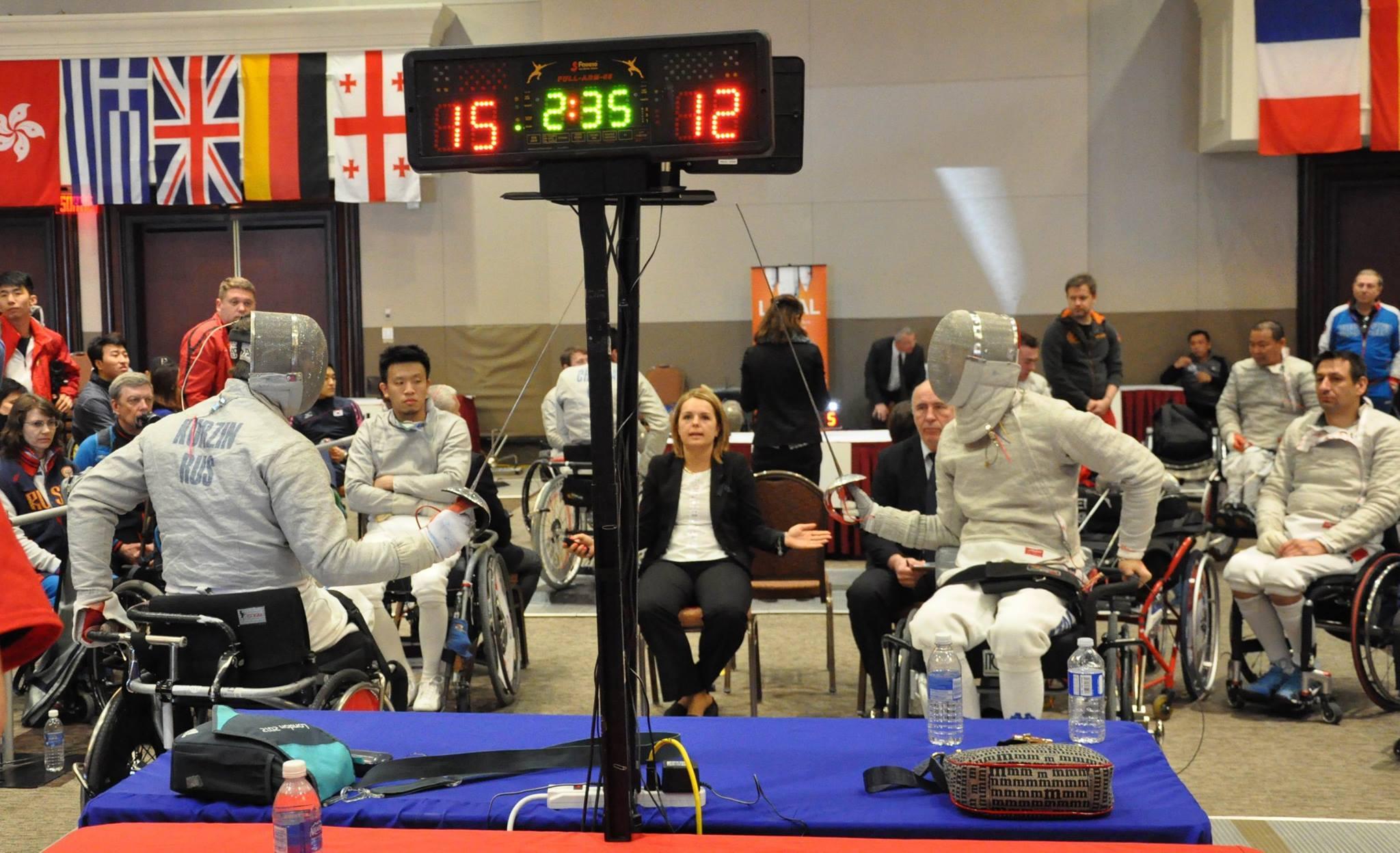 Российские фехтовальщики завоевали одну золотую, две серебряные и две бронзовые медали на Кубке мира в Канаде