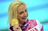 Паралимпийский комитет России  поздравляет с 25-летием Владыкину Олесю  - двукратную чемпионку, серебряного и бронзового призера Паралимпийских игр по плаванию и желает ей крепкого здоровья, спортивных успехов, тепла и любви близких людей, счастья и благо
