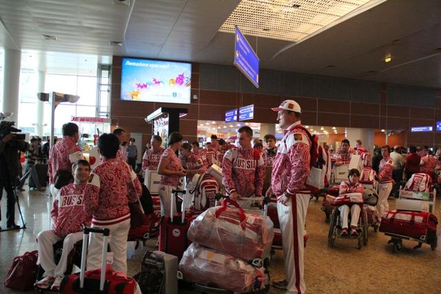 Сборная команда России вылетела в Лондон для участия в XIV Паралимпийских летних играх, которые пройдут 29 августа - с.г.