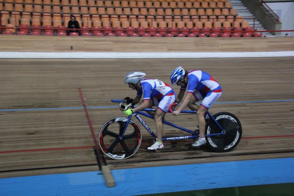 Ведущие спортсмены страны поведут в Туле борьбу за награды чемпионата России по велоспорту-тандем на треке