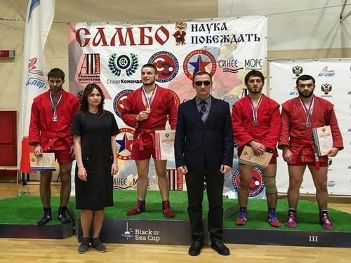 В Сочи завершился чемпионат России по самбо спорта слепых