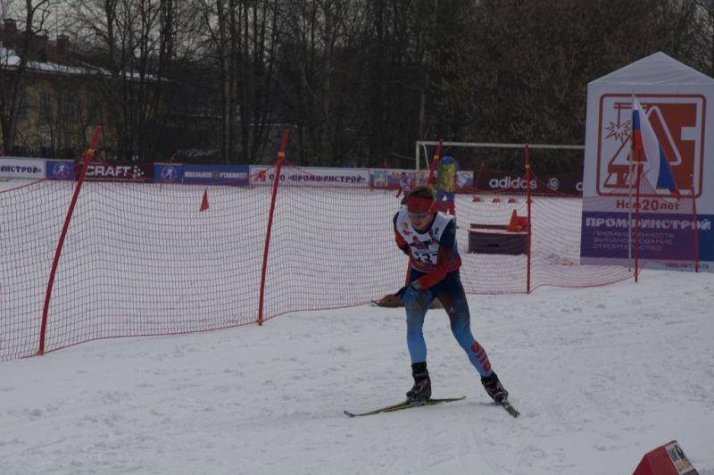В г. Пересвет (Московская область) проходит чемпионат и первенство России по лыжным гонкам и биатлону спорта лиц с ПОДА