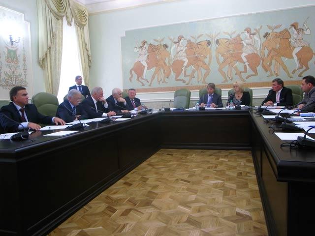 Заседание Штаба по  контролю за обеспечением подготовки спортивных сборных команд Российской Федерации  к XIV Паралимпийским летним играм 2012 года в Лондоне