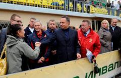 В.Л. Мутко и П.А. Рожков посетили  соревнования  Первой всероссийской летней Спартакиады инвалидов