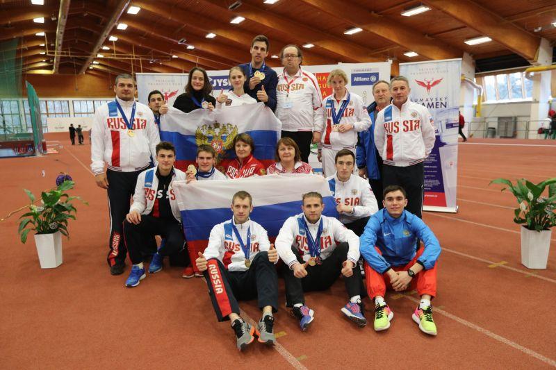 Российские легкоатлеты триумфально выступили на чемпионате Европы спорта ЛИН в Чехии